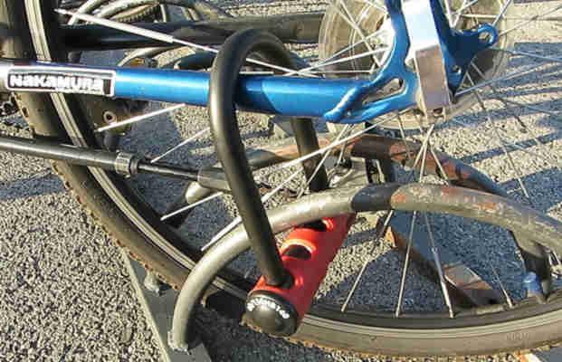 Zapięcie rowerowe typu U – lock 2